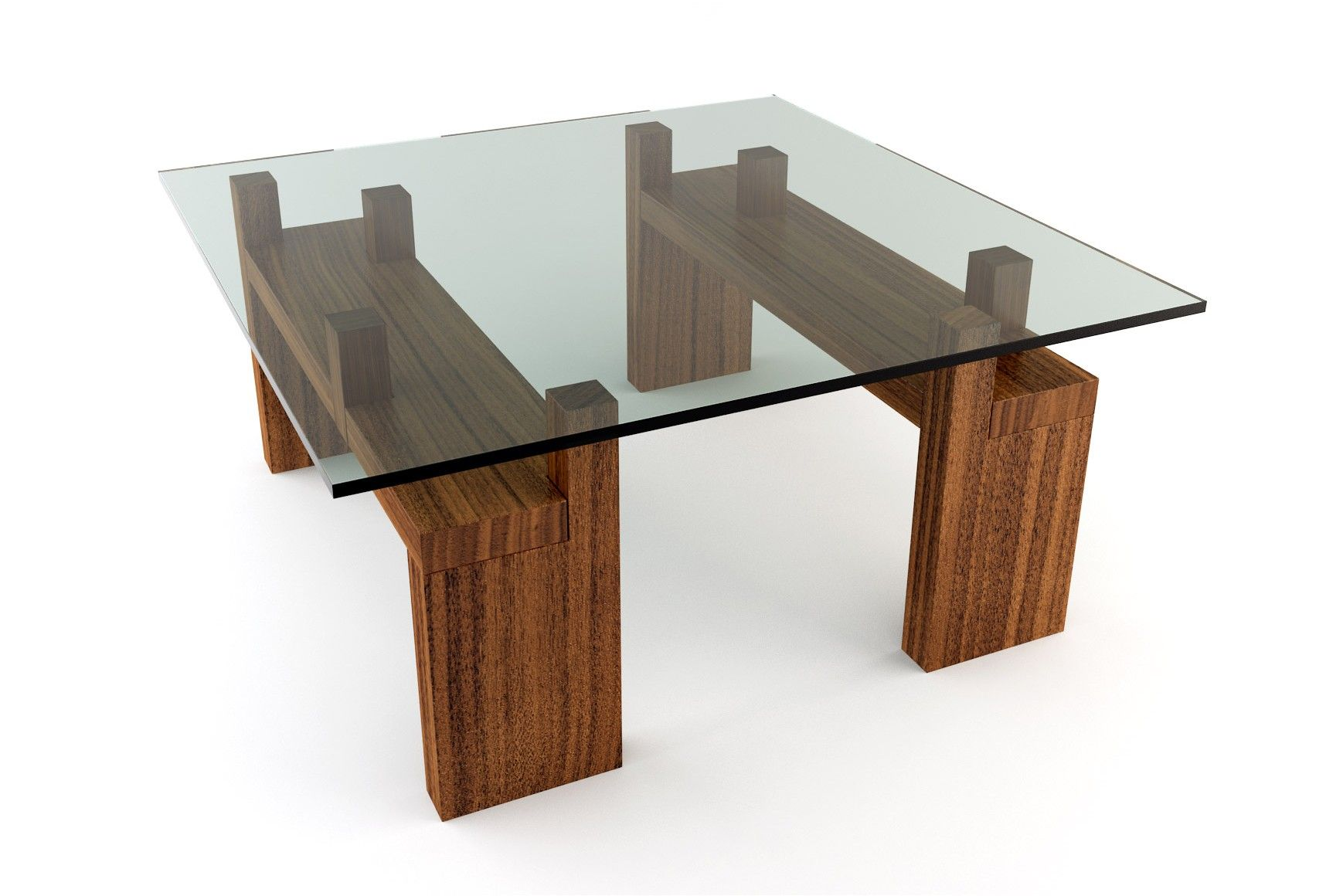 knar coffee table | squares, glasses and square coffee tables