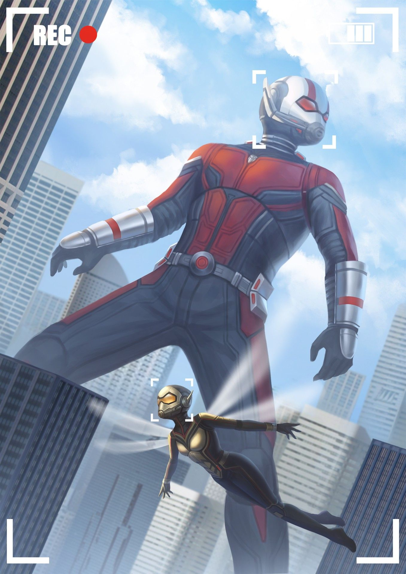 Ant Man And The Wasp Com Imagens Hqs Marvel Herois Marvel