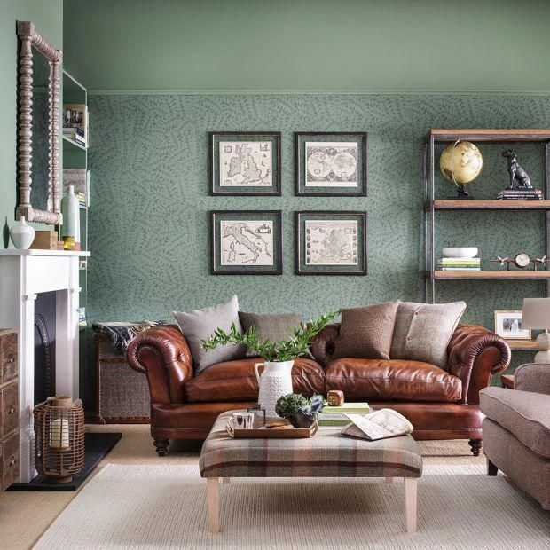 Green Living Room Ideas For Soothing Sophisticated Spaces: Do You Need To Improve The Charm Of Your Residence By