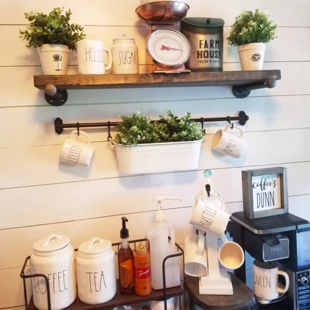 Photo of DIY Coffee Bar Ideas – Stunning Farmhouse Style Beverage Stations for Small Spaces and Tiny Kitchens – Decluttering Your Life