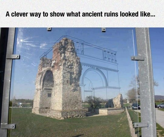 How Ancient Ruins Looked http://ibeebz.com