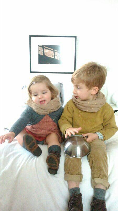 Nicolás  y Pippa