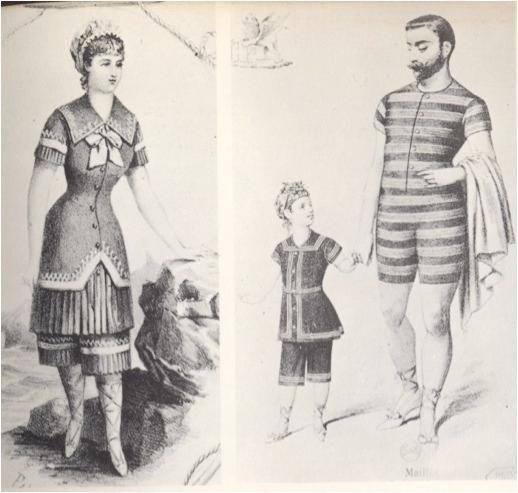924546c44f victorian men bathing suit pattern - Google Search | Early Bathing ...