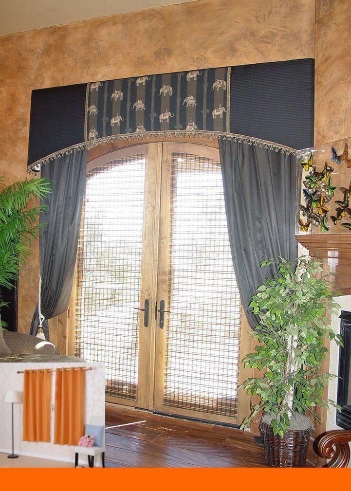 Do It Yourself Window Treatments: Do It Yourself Curtain Ideas #blinds #bedroomideas