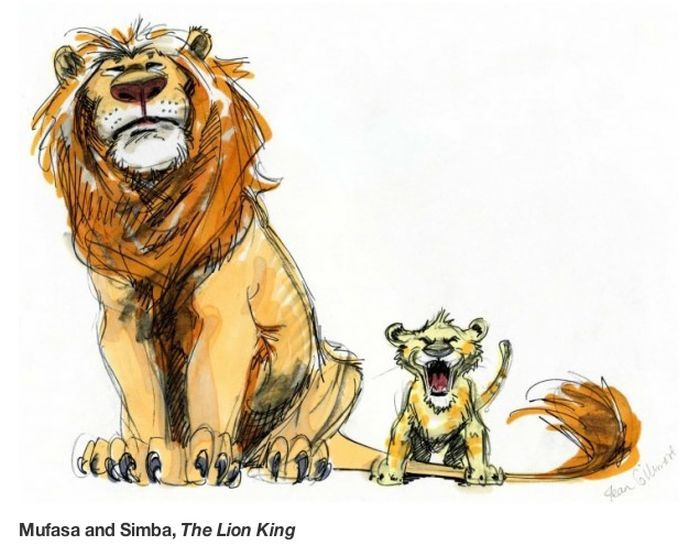 Lion King Original Concept Designs From The 90 S Disney Character Sketches Character Sketches Disney Drawings