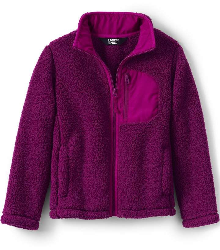 60dae5c0d60c Lands end Kids Sherpa Jacket  feelin cozy cool