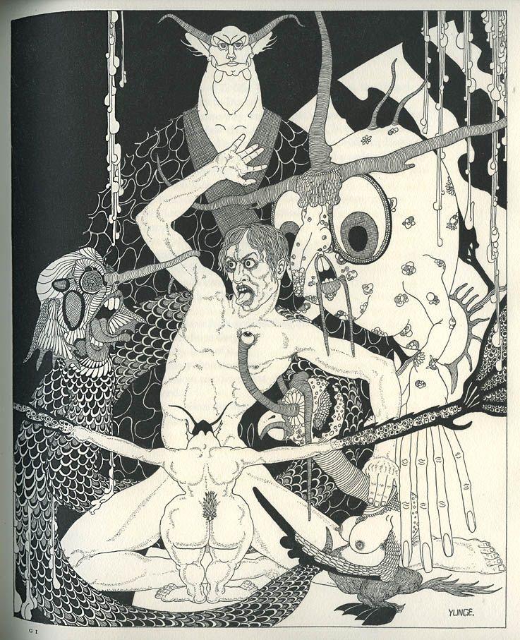 King Lear illustrated by John Yunge-Bateman