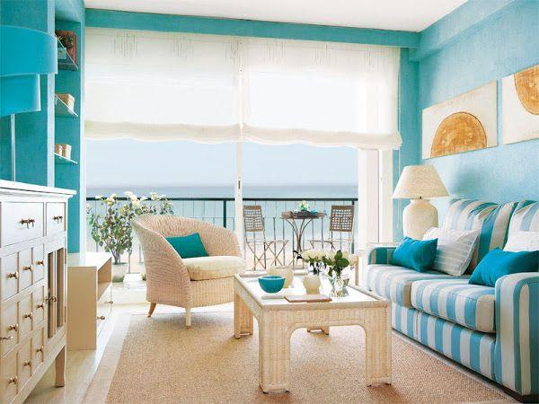 Ideas Para Decorar Tu Apartamento En La Playa Decoracion Apartamento Playa Casa De Playa Interior Como Decorar Un Apartamento
