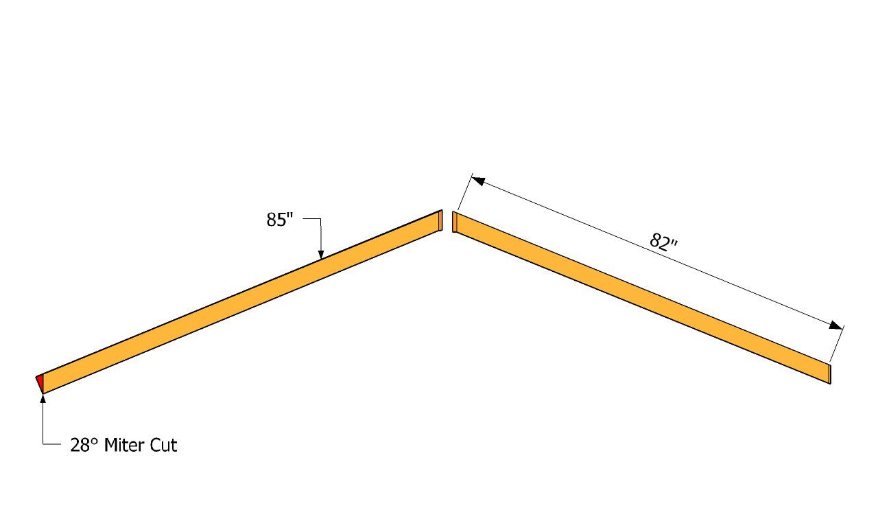 How To Build An L Shaped Roof Howtospecialist How To Build Step By Step Diy Plans Roof Installation L Shaped House Roof Framing