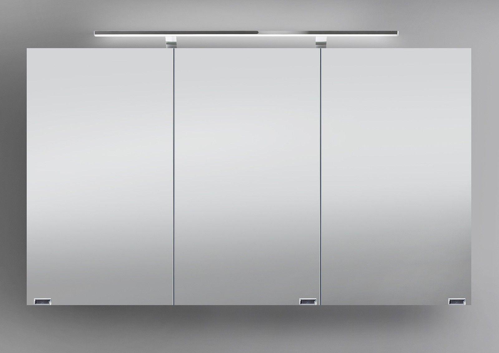 Designbaeder Com Spiegelschrank 120 Cm Spiegelschrank Spiegelschrank Bad