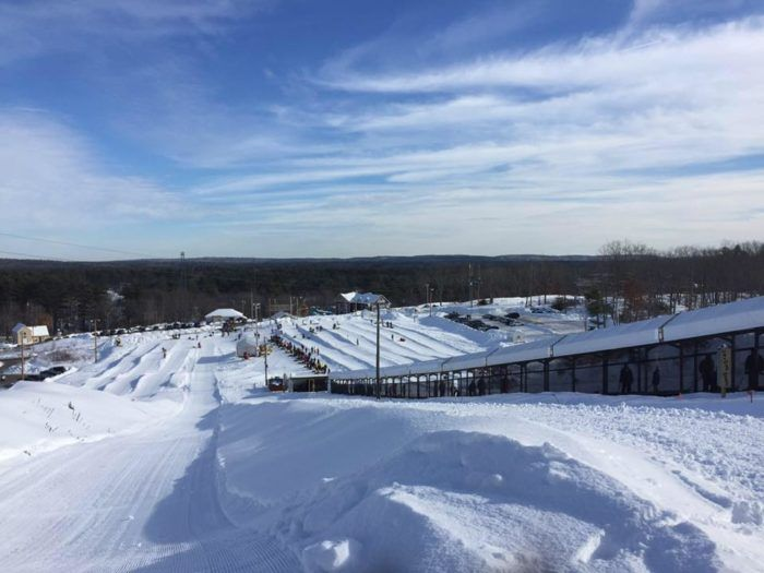 The 8 Best Places In Maine To Go Snow Tubing This Winter Snow Tubing Snow Maine