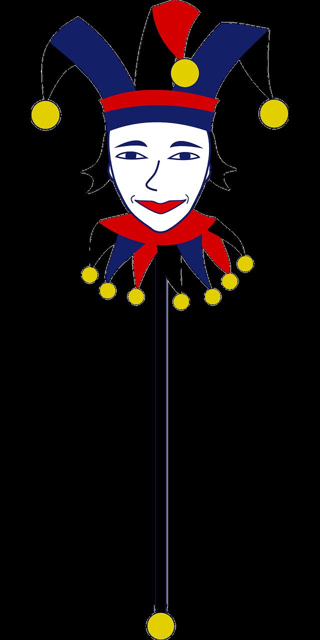 Free Image On Pixabay Joker Clown Bauble Bells Fool Free Clip Art Clip Art Art