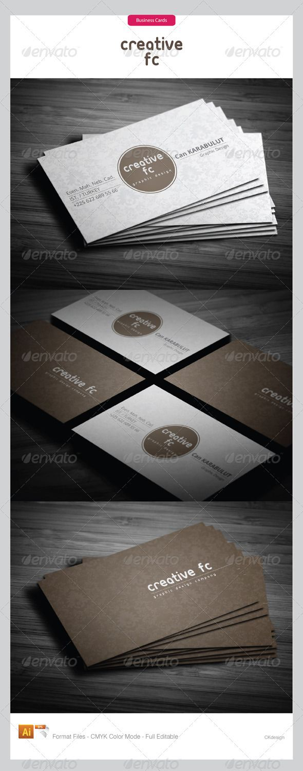 Corporate Business Cards 251 | Corporate business, Print templates ...