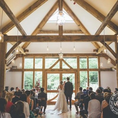 Exposed Oak Frame Wedding Barn Cornwall Venue