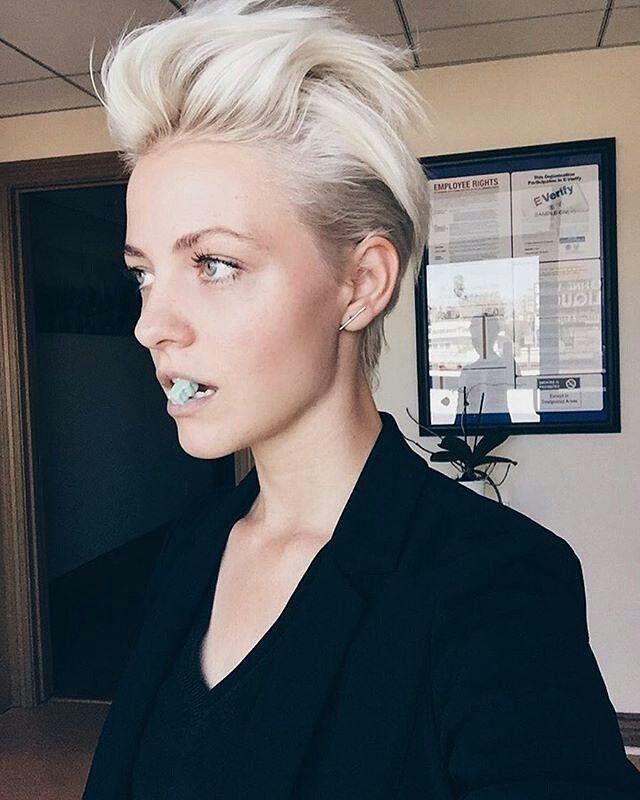 Bilder kurzhaarfrisuren damen blond