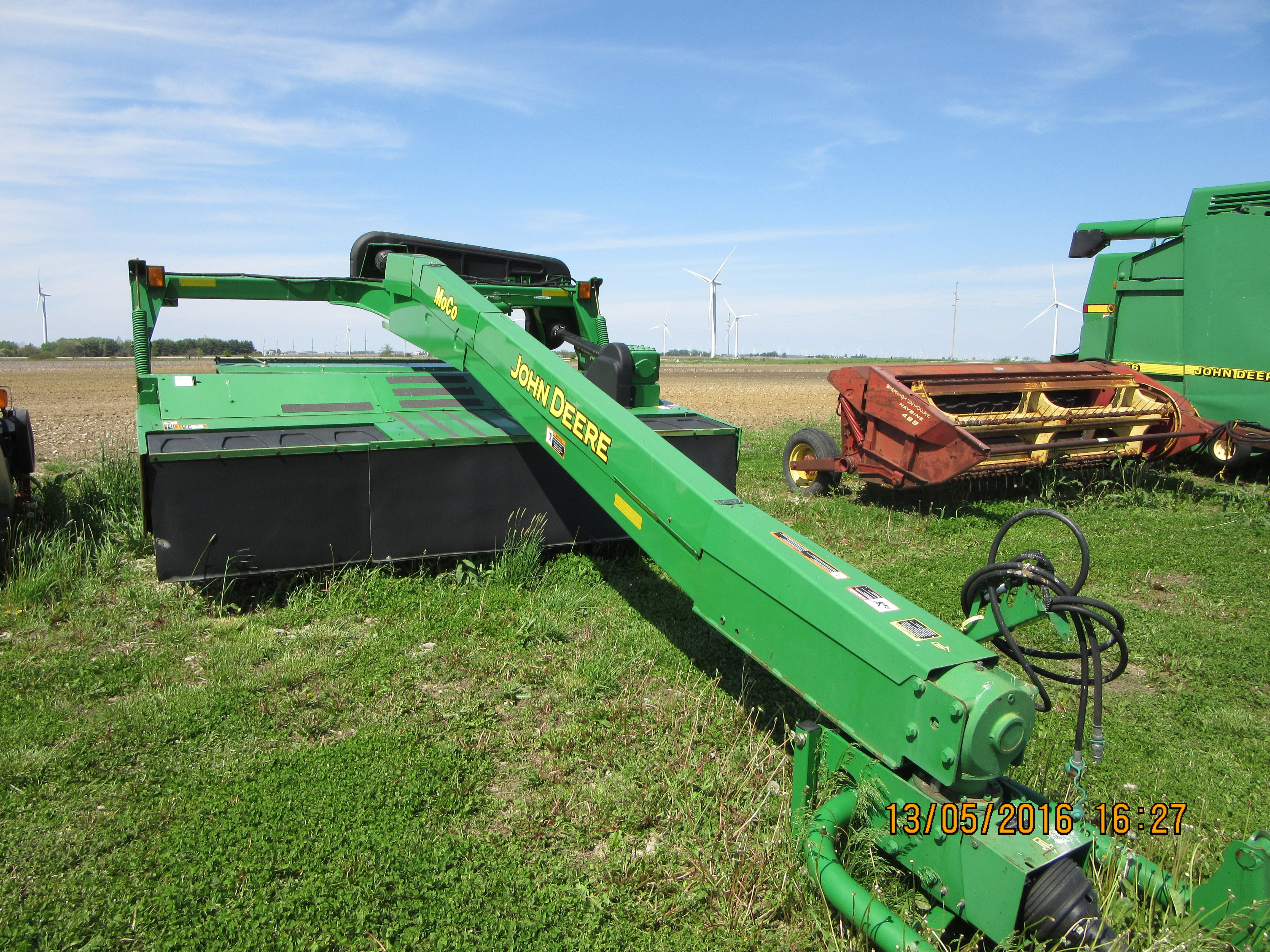 John Deere 730 mo/co mower conditioner | Tractors and