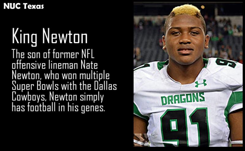 Nuc Texas King Newton Making A Name For Himself Coach Dave