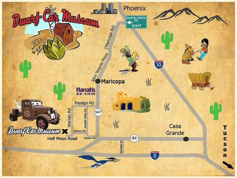 Dwarf Car Museum Maricopa, AZ (With images) Car museum
