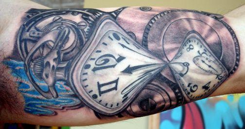 Sowa Z Zegarem Tatuaż Szukaj W Google Tatoo Sowa