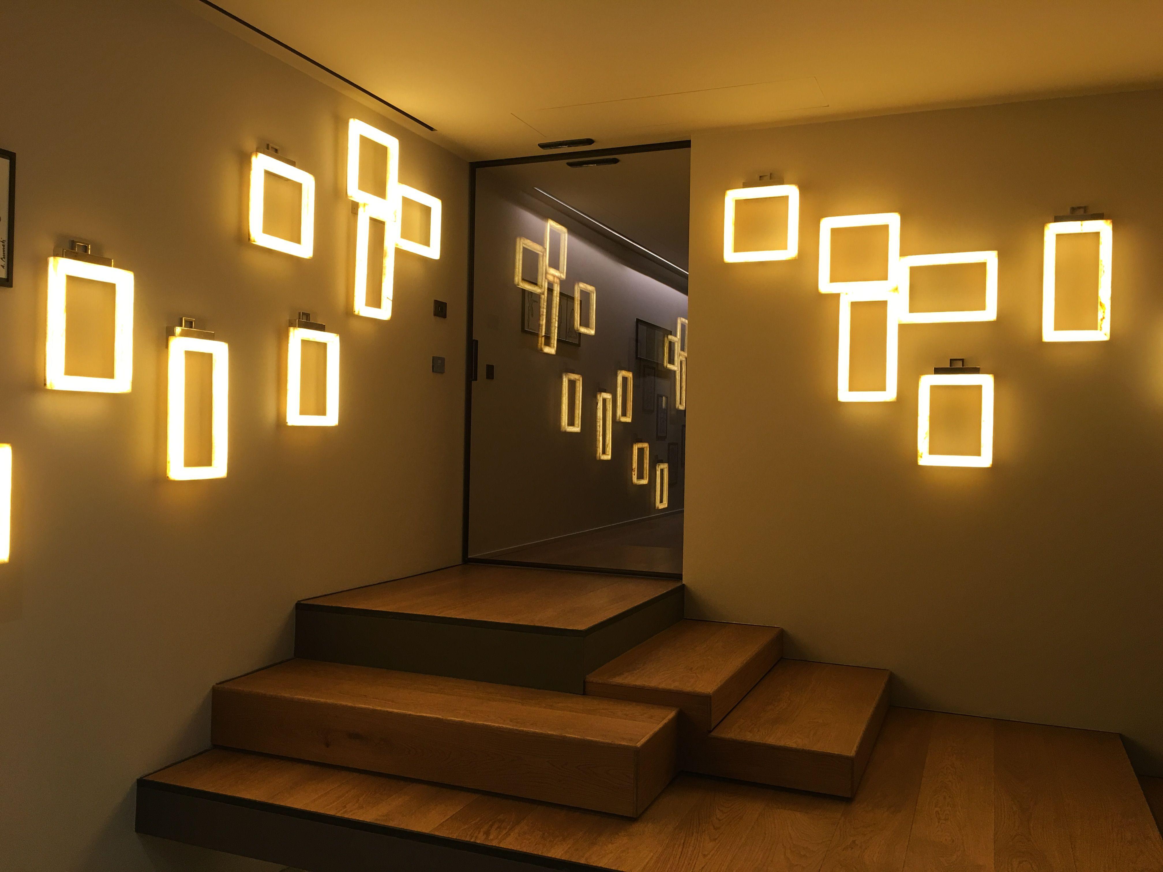 CONTARDI lighting fuorisalone 2016 at ON HOUSE UFFIZI appliques