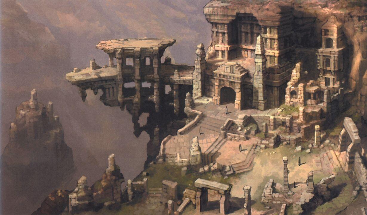 Ruined City Conceptart Google 검색 Conceptart 판타지 예술