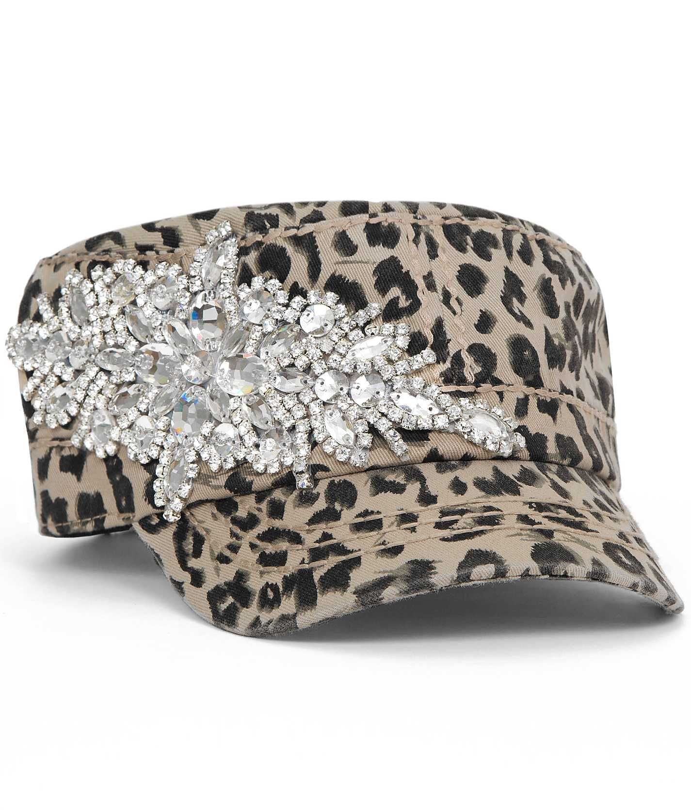 7f4ac994144 LOVE THIS! Olive   Pique Bling Military Hat - Women s Hats