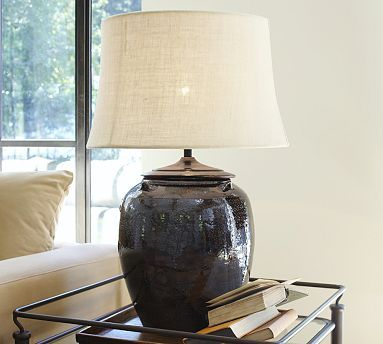 Courtney Ceramic Table Lamp Base Potterybarn 13 5