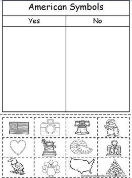 American Symbols American Symbols Unit American Symbols Kindergarten Social Studies