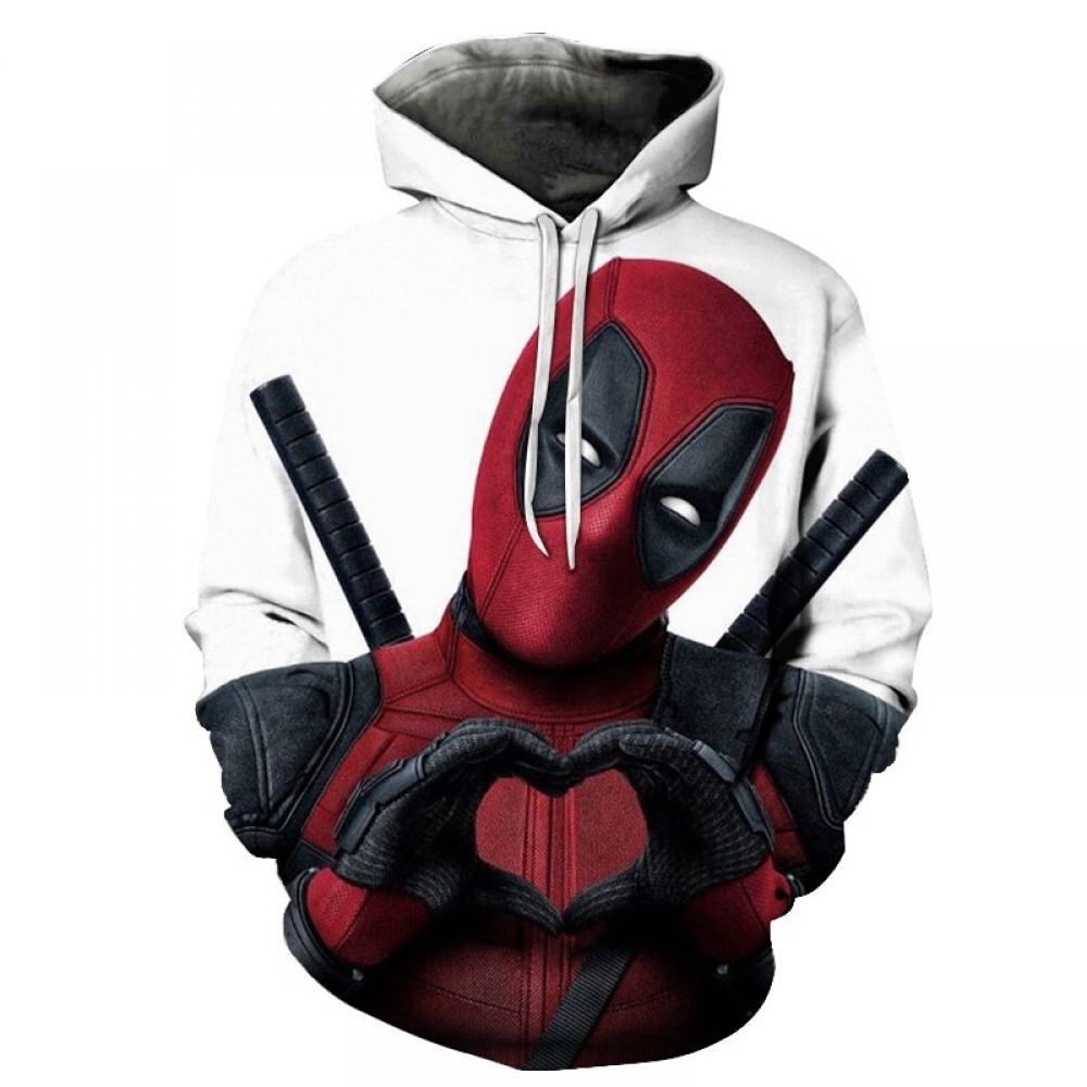 3D Print Deadpool 2 Hoodie for only $29.81 & FREE Shipping Repin to your Boards.....