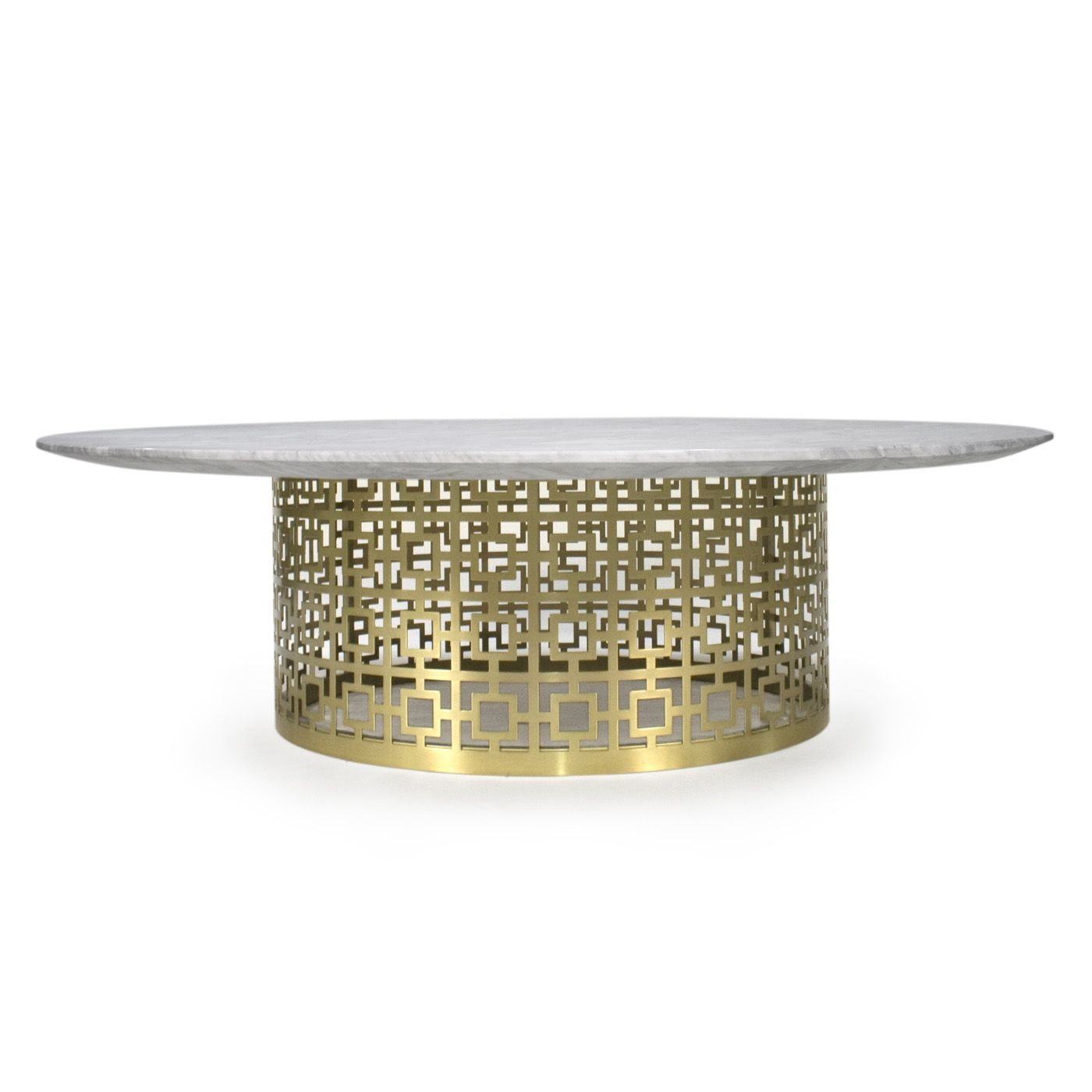 Nixon Cocktail Table Jonathan Adler - AP: Might be too small for the space