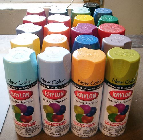 Krylon Spray Paints Craft U0026 Decor Line....including Metallic, Mirror,  Frosted Glass, Pens, Glitter, Chalkboard, Magnetic, And Various Textures.