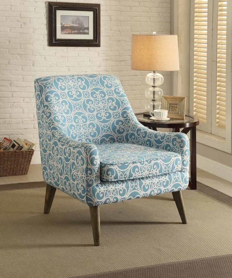Park Art|My WordPress Blog_Printed Accent Chair With Ottoman