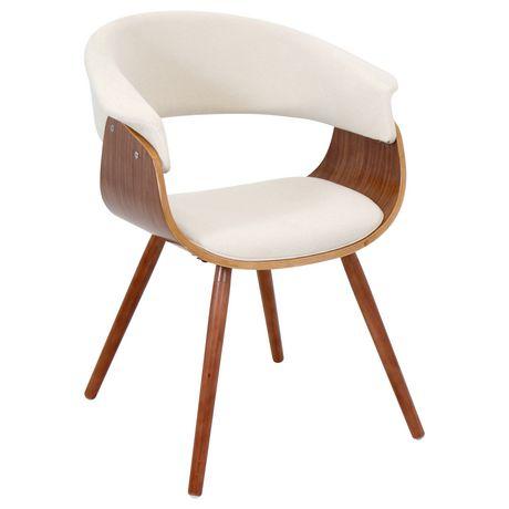 Lumisouce Vintage Mod Mid Century Modern Chair Walmart Ca Mid