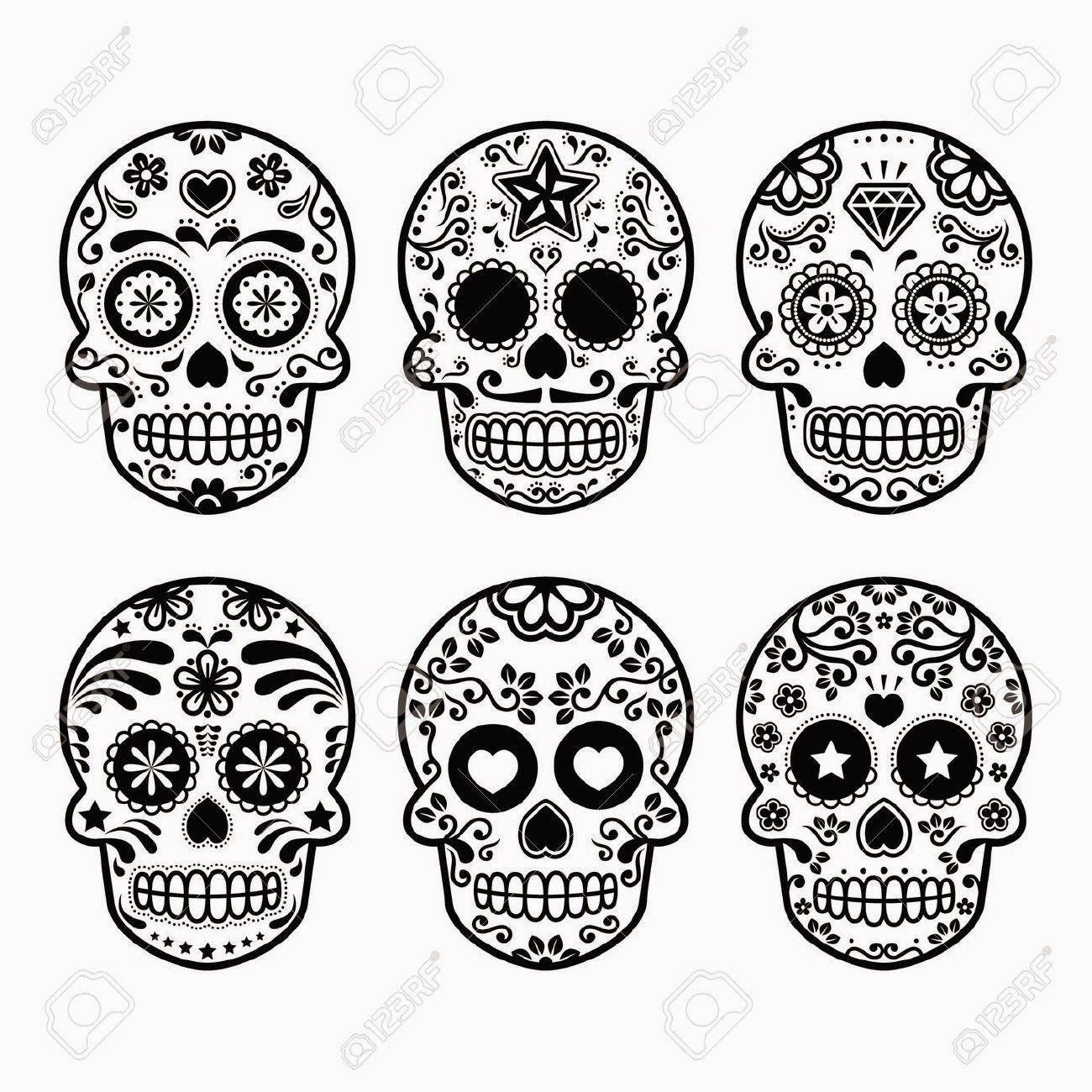Dibujos Para Colorear Dia De Los Muertos | ideas | Pinterest ...