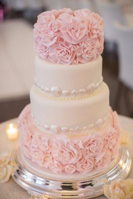Rose Et Romantique Wedding Cakes Beaux Gâteaux De