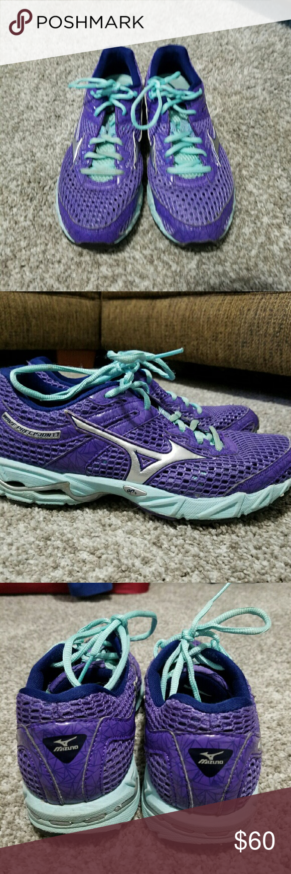 Mizuno Selling a pair of Mizuno Running shoes. Great condition Mizuno Shoes Athletic Shoes