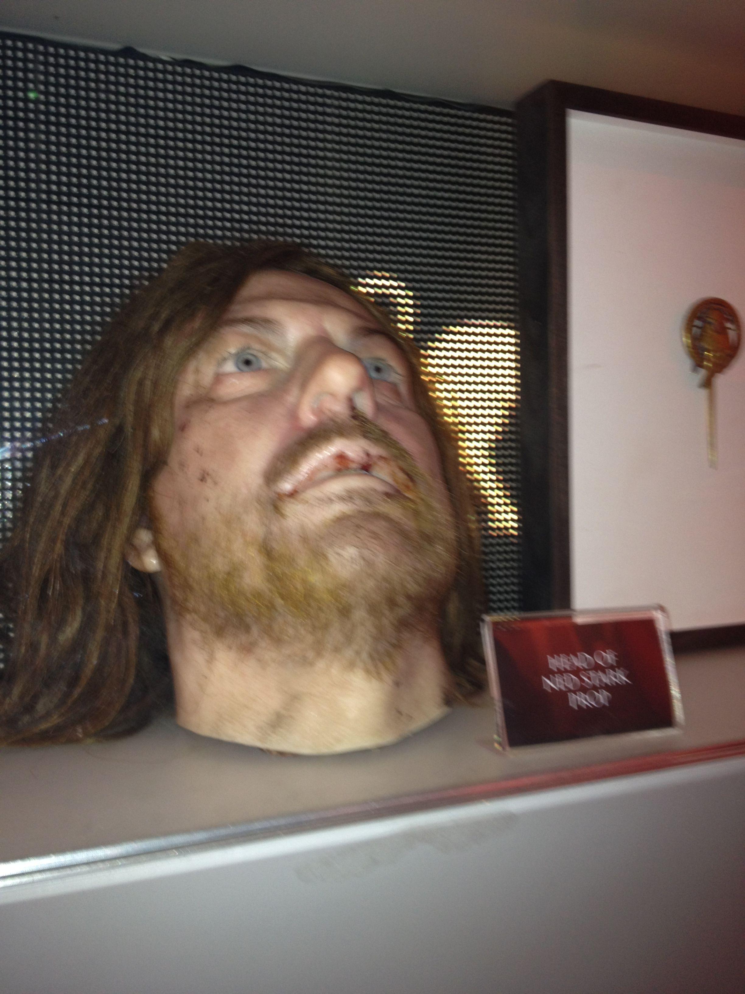 Ned Stark's Head