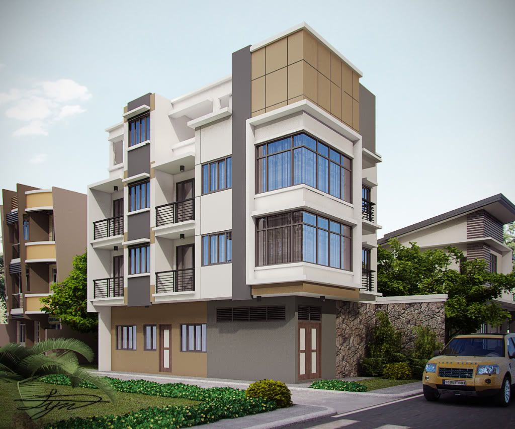 Three story apartment building plans google search