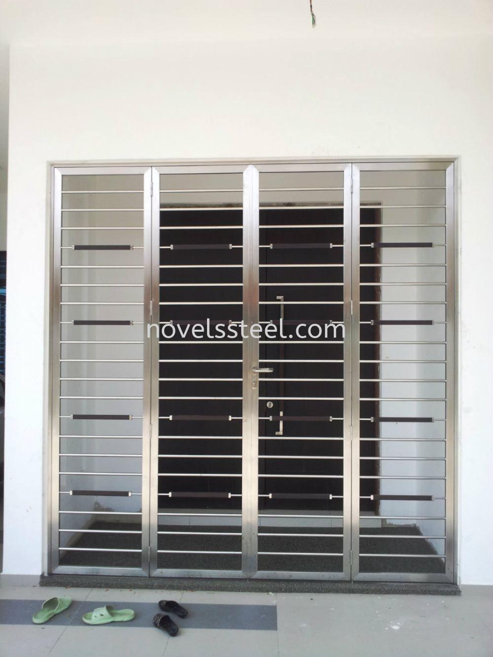 Stainless Steel Double door 020 Stainless Steel Double door