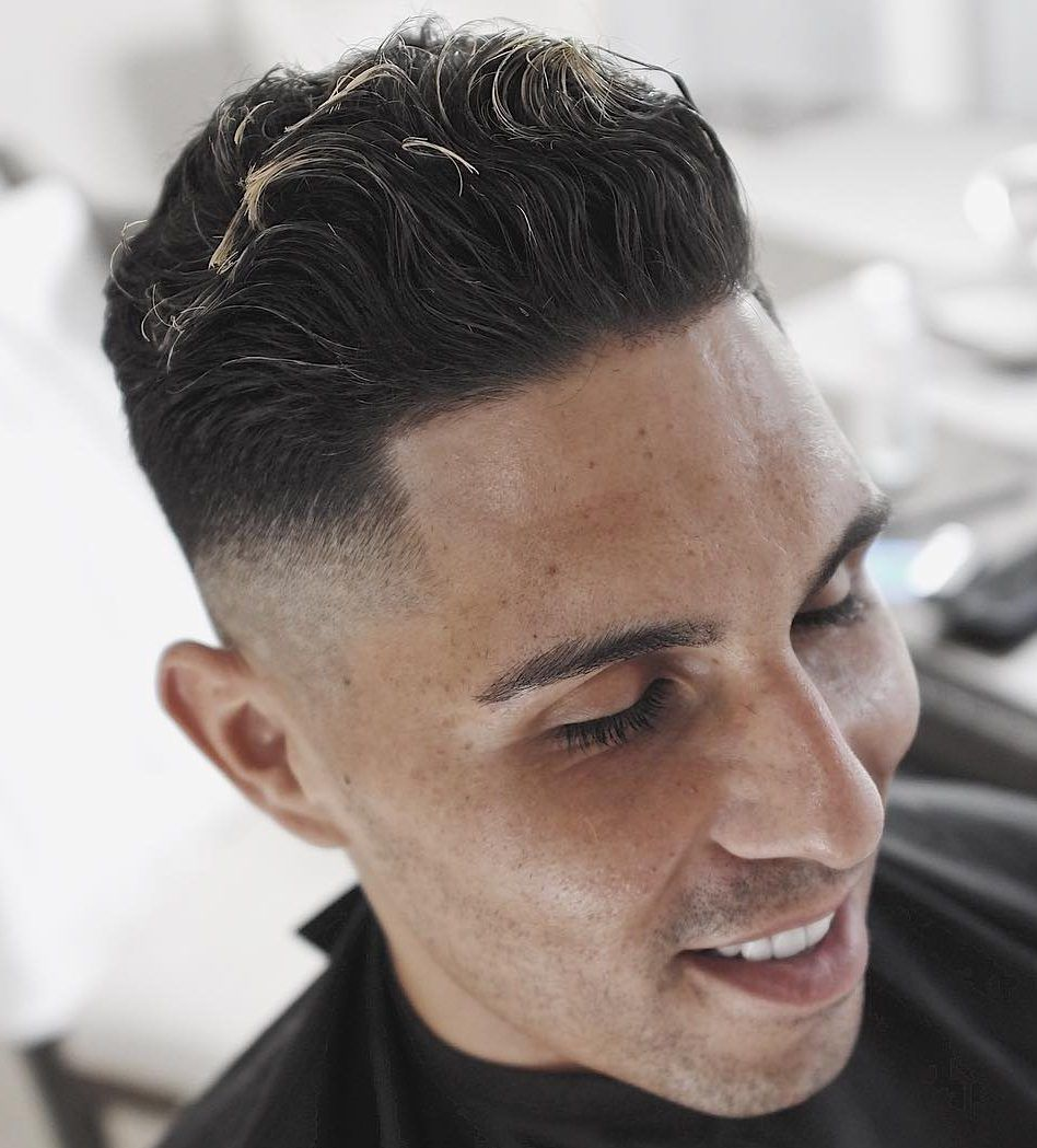 Men curly haircuts pompadour haircuts  menus hairstyles  pinterest  pompadour and