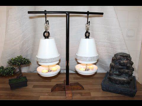 Build tealight oven yourself. diy a tea light oven Flower Pot Heater.