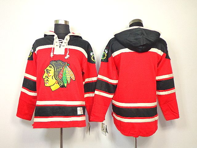 d7bf9b97c Blackhawks Blank Red Sawyer Hooded Sweatshirt With Stanley Cup Finals  Embroidered NHL Jersey Kelly Mens Chicago ...