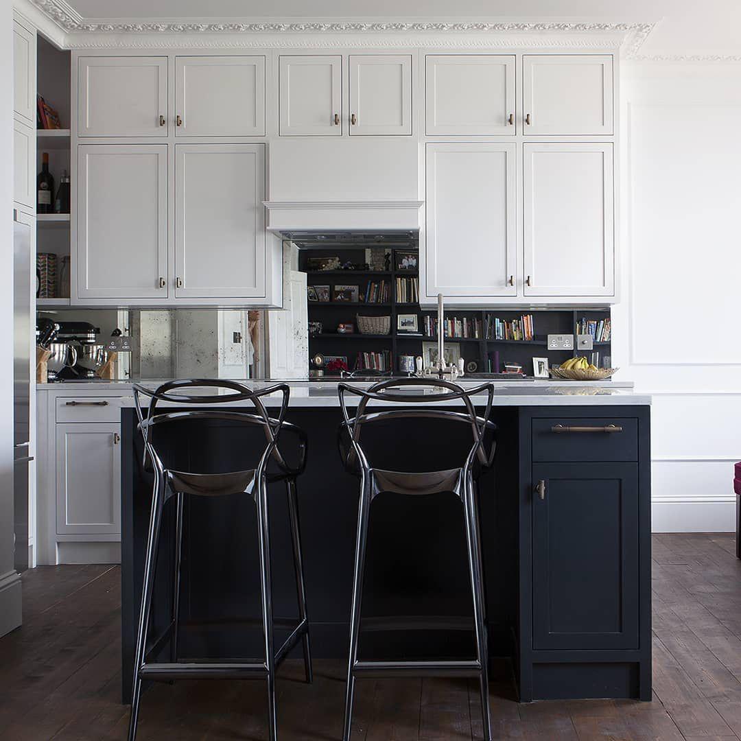 Beautiful bespoke kitchen, designed by @moxyandcostudio ...