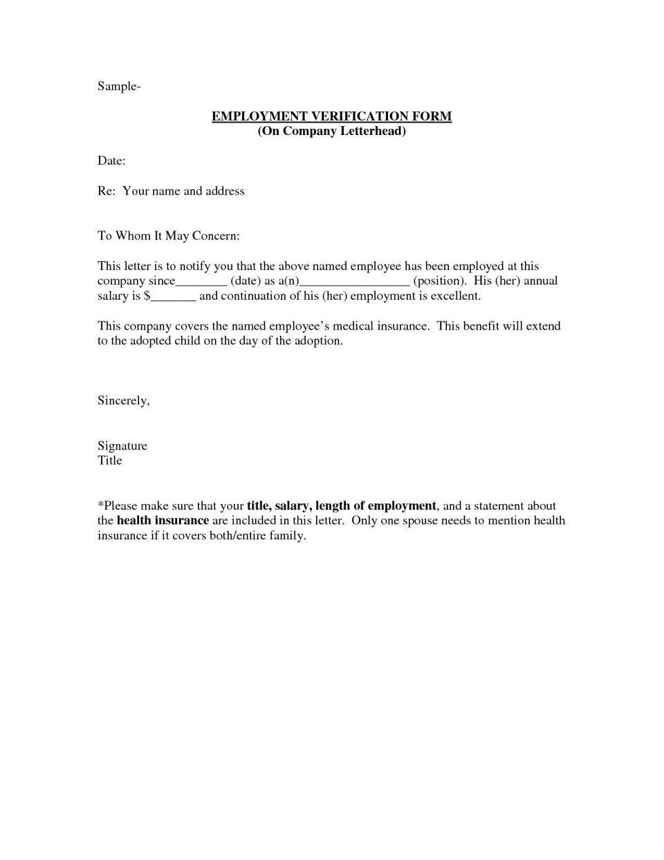 Employment Verification Letter Sample Ironi Celikdemirsan With Employment Verification Letter Template Wo Letter Template Word Letter Templates Letter Sample