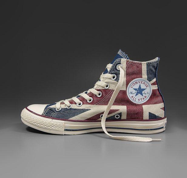 vintage union jack | Converse - All Star Hi - Union Jack Vintage - ukflag
