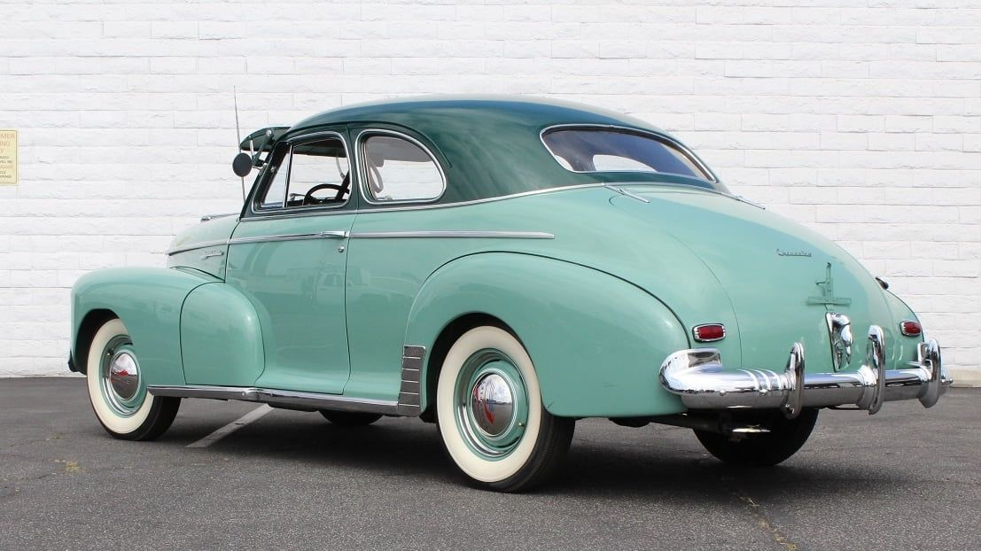 1942 Chevrolet Special Deluxe Coupe presented as Lot F55 1
