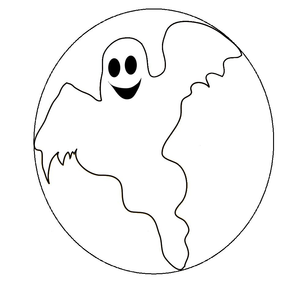 Best Photos of Ghost Coloring Pages Printable - Halloween Ghost ...