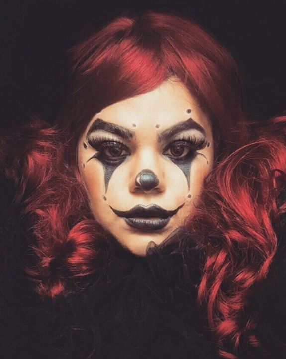 maquillage halloween cirque