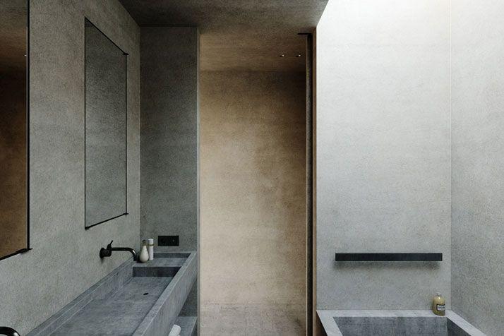 Minimalistische villa in frankreich frankreich