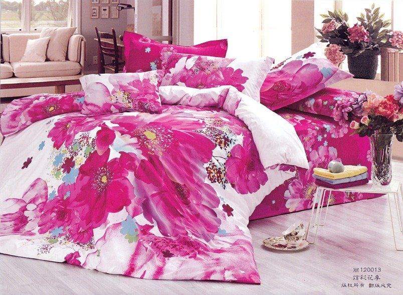 Love This New Beautiful 4pc 100 Cotton Comforter Duvet Doona Cover Sets Full Queen King Siz King Size Bedding Sets Duvet Comforters Cheap Bedding Sets Cheap queen size bedding sets